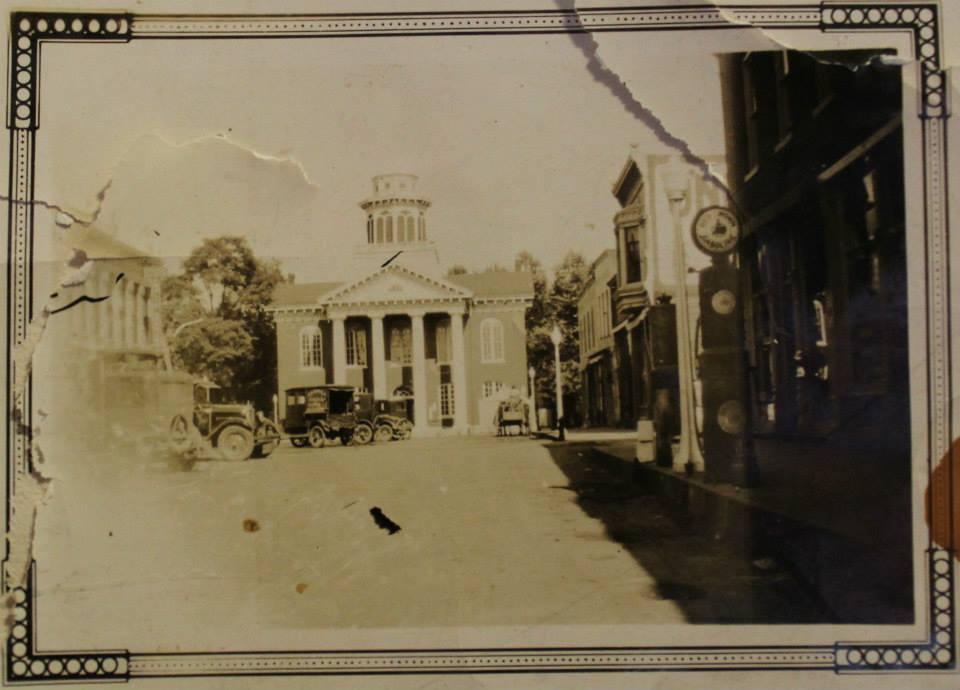 Courthouse Cupola circa 1920s