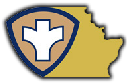 Brown County Health logo. Containing the public health logo over an image of Brown County